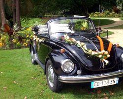 Roulez en Fête - Chartres-de-Bretagne - VW Coccinelle Cabriolet 1975