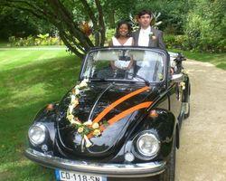 Roulez en Fête - Chartres-de-Bretagne - MARIAGE EN COCCINELLE